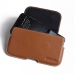 HTC One A9 Leather Holster Pouch Case (Brown) handmade leather case by PDair
