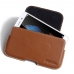 Huawei Enjoy 5s Leather Holster Pouch Case (Brown) handmade leather case by PDair
