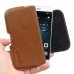 Huawei P9 Leather Holster Pouch Case (Brown) genuine leather case by PDair