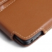 Microsoft Lumia 950 Leather Holster Pouch Case (Brown) custom degsined carrying case by PDair