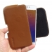 Meizu Pro 6 Leather Holster Pouch Case (Brown) genuine leather case by PDair