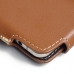 Samsung Galaxy A5 2016 Leather Holster Pouch Case (Brown) custom degsined carrying case by PDair