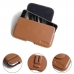 Xiaomi Mi 6 Leather Holster Pouch Case (Brown) protective carrying case by PDair