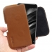 Xiaomi Mi 6 Leather Holster Pouch Case (Brown) handmade leather case by PDair