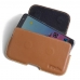 ZTE Blade V7 / Small Fresh 4 Leather Holster Pouch Case (Brown) handmade leather case by PDair