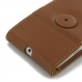 Moto G 3rd Gen 2015 Leather Flip Wallet Case (Brown) best cellphone case by PDair
