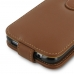 Samsung Galaxy S7 edge Leather Flip Wallet Case (Brown) offers worldwide free shipping by PDair