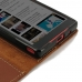 Sony Xperia Z5 Compact Leather Smart Flip Wallet Case (Brown) top quality leather case by PDair