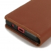 Sony Xperia Z5 Compact Leather Smart Flip Wallet Case (Brown) offers worldwide free shipping by PDair