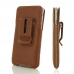 iPhone 8 Plus Luxury Pouch Case with Belt Clip (Brown) handmade leather case by PDair