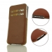 iPhone X Leather Pocket Pouch with Card Holder (Brown) handmade leather case by PDair