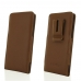 Sony Xperia 10 Plus Pouch Case with Belt Clip (Brown) protective carrying case by PDair