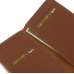 Acer Liquid Zest 4G Leather Wallet Pouch Case (Brown) genuine leather case by PDair