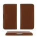 MEIZU U10 Leather Wallet Pouch Case (Brown) genuine leather case by PDair
