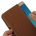 Samsung Galaxy J5 2016 Leather Wallet Pouch Case (Brown) custom degsined carrying case by PDair