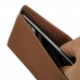 Samsung Galaxy C5 Leather Wallet Pouch Case (Brown) top quality leather case by PDair