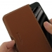 Samsung Galaxy C5 Leather Wallet Pouch Case (Brown) custom degsined carrying case by PDair