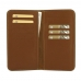 Samsung Galaxy J6 Leather Wallet Pouch Case (Brown) protective carrying case by PDair