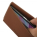 Sony Xperia X Leather Wallet Pouch Case (Brown) top quality leather case by PDair