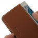 Sony Xperia XZs Leather Wallet Pouch Case (Brown) custom degsined carrying case by PDair