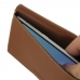 ZTE Blade V7 / Small Fresh 4 Leather Wallet Pouch Case (Brown) top quality leather case by PDair