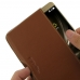 Asus Zenfone 3 Deluxe Leather Wallet Pouch Case (Brown) custom degsined carrying case by PDair