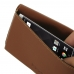 BlackBerry KEY2 Leather Wallet Pouch Case (Brown) genuine leather case by PDair