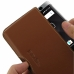BlackBerry KEY2 Leather Wallet Pouch Case (Brown) top quality leather case by PDair