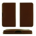 Motorola One Macro Leather Wallet Pouch Case (Brown) handmade leather case by PDair