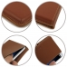 MEIZU U20 Leather Wallet Pouch Case (Brown) handmade leather case by PDair