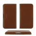 MEIZU U20 Leather Wallet Pouch Case (Brown) genuine leather case by PDair