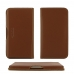 Samsung Galaxy C7 Pro Leather Wallet Pouch Case (Brown) genuine leather case by PDair