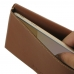 Samsung Galaxy On7 2016 Leather Wallet Pouch Case (Brown) top quality leather case by PDair