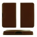 ViVO X23 Leather Wallet Pouch Case (Brown) handmade leather case by PDair