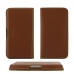 Xiaomi Redmi Note 4 Leather Wallet Pouch Case (Brown) genuine leather case by PDair