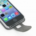 iPhone SE Leather Flip Carry Case (White) genuine leather case by PDair