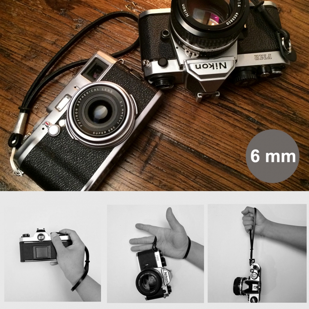 10% OFF + FREE SHIPPING, Buy Best PDair Quality 6mm Black Spain Genuine Leather Camera Wrist Grip Strap / Camera Hand Grip for Micro-single Camera online. You also can go to the customizer to create your own stylish leather case if looking for additional