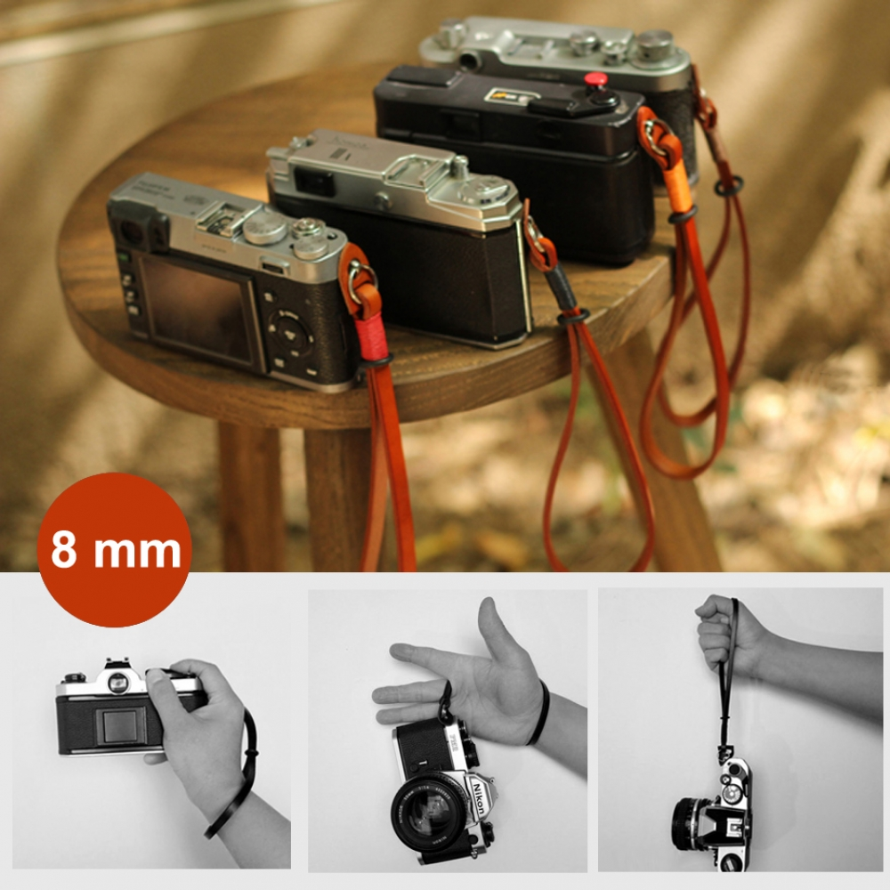 10% OFF + FREE SHIPPING, Buy Best PDair Quality 8mm Brown Spain Genuine Leather Micro-single Camera Wrist Grip Strap online.Exquisitely designed for Camera You also can go to the customizer to create your own stylish leather case if looking for additional