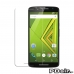 Moto X Play Ultra Clear Screen Protector genuine leather case by PDair