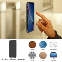 10% OFF + FREE Shipping, Buy Best PDair iPhone XR Anti-Gravity Selfie Silicone Case Black online. Exquisitely designed engineered for iPhone XR. You also can go to the customizer to create your own stylish leather case if looking for additional colors.