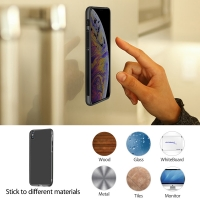 10% OFF + FREE Shipping, Buy Best PDair iPhone XS Anti-Gravity Selfie Silicone Case Black online. Exquisitely designed engineered for iPhone XS. You also can go to the customizer to create your own stylish leather case if looking for additional colors.