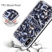 iPhone X natural sea shell pattern protective fashion case applies to sea shell pattern design elements makes you and your phone fashionable and chic, and perfectly match any occasions. Flexible soft but really tough TPU material helps to shock absorbing,