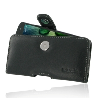 Acer Liquid Zest 4G Leather Holster Case PDair Premium Hadmade Genuine Leather Protective Case Sleeve Wallet