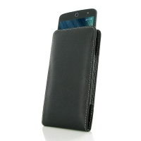Acer Liquid Zest 4G Leather Sleeve Pouch Case PDair Premium Hadmade Genuine Leather Protective Case Sleeve Wallet