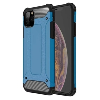Hybrid Dual Layer Tough Armor Protective Case for Apple iPhone 11 (blue)