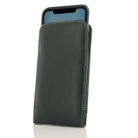 Leather Vertical Pouch Case for Apple iPhone 11 ( Compatible with 1.0 mm Slim Case / Cover on )