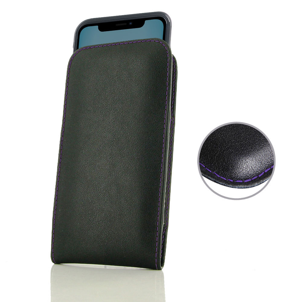 10% OFF + FREE SHIPPING, Buy the BEST PDair Handcrafted Premium Protective Carrying iPhone 11 (in Slim Cover) Pouch Case (Purple Stitch). Exquisitely designed engineered for iPhone 11.