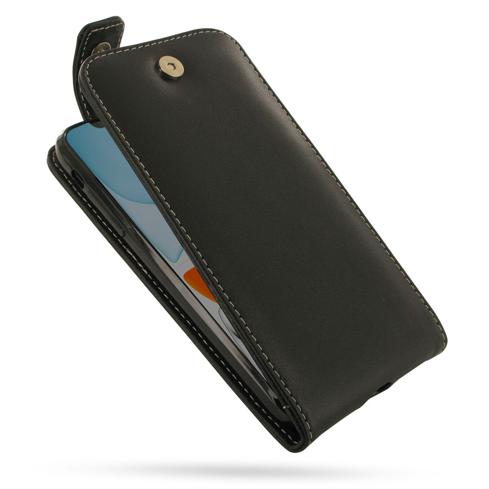 iPhone 11 Leather Flip Top Wallet Case is custom designed to fit your needs either in functionality or quality, using PDair classic and traditional conception of design philosophy. Multiple openings give you the freedom of using the basic functions of you