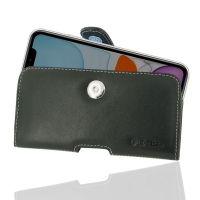 Leather Horizontal Pouch Case with Belt Clip for Apple iPhone 11