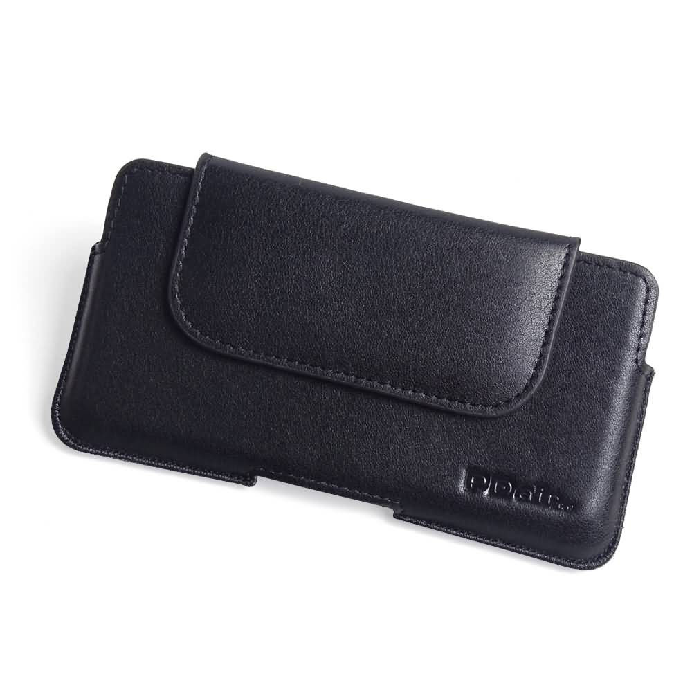 iPhone 11 Leather Holster Pouch Case (Black Stitch) is custom designed to allow you to carry your device on belt easily. You can remove your device anytime by the opening at the bottom. Luxury slim design with full protection and added comfort leather bel
